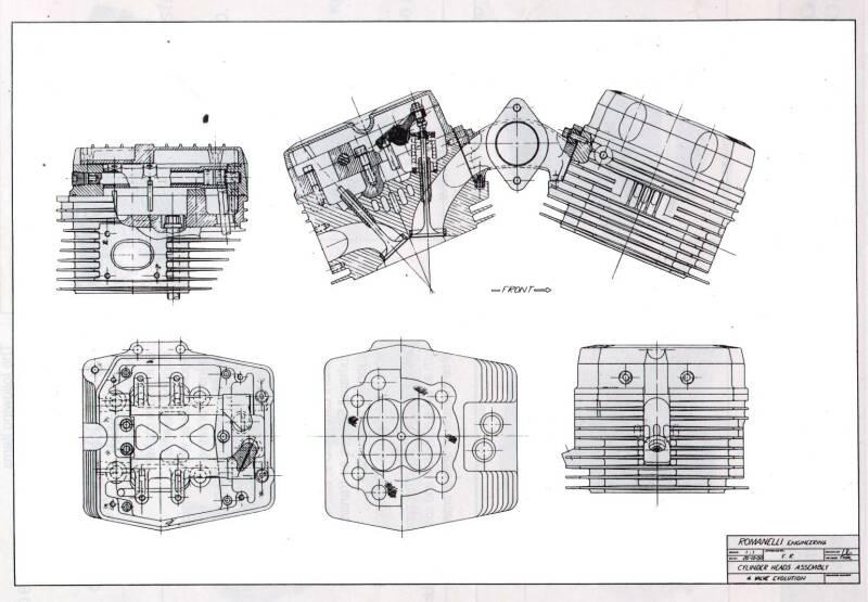 romanelli technologies harley-davidson evo engine drawings harley davidson evo engine diagram #19